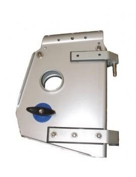 Tête de safran aluminium 188x194mm
