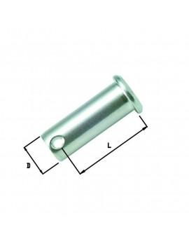 Axe inox épaulé 8x30mm