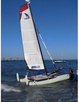 Twincat 15 Sport 2015 / démo + enrouleur + avaleur de spi - Coques blanches