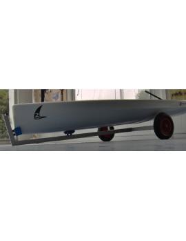 Chariot de mise à l'eau aluminium démontable TWINER