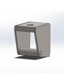 Chariot de casting inox ISO Ø8mm