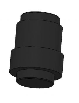 Pied de mat Twiner pour mat carbone Ø55mm