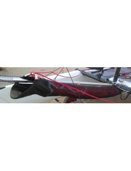 Chaussette avaleur de spi catamaran 12-13 pieds avt 07-2016 - Noire