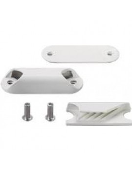 Clam cleat nerf de voile blanc