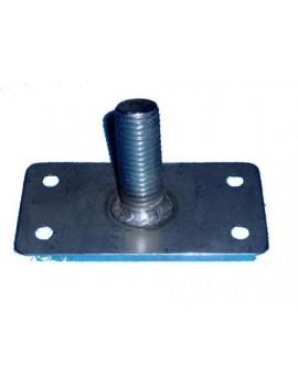 Emplanture de mat catamaran 2WIN (9x5cm)