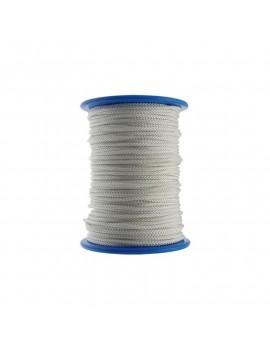 Garcette polyamide Ø3mm blanche (100m)